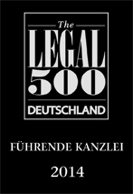 Legal 500 Leading Firm (DE)
