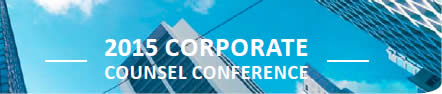 2015 Corporate Counsel Conference