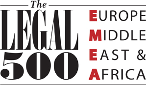 Legal 500 EMEA Recommended